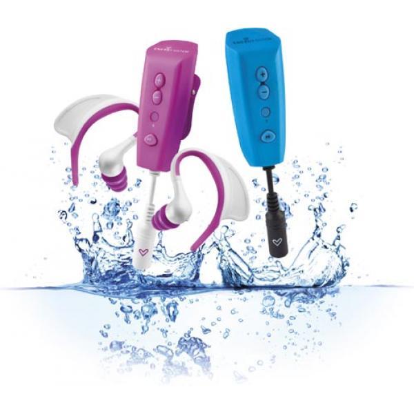 El reproductor MP3 acuático con el que podrás nadar al ritmo de tu música allá donde vayas, llévatelo a la piscina o a la playa, el límite lo pones tú, no el agua