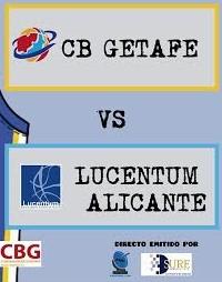 Sure Service patrocina la emisión en directo del partido CB Getafe-Lucentum